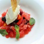 Hooajalised marjad, maasika granita ja mascarpone vaht