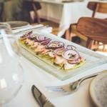 Kergelt marineeritud kaheksajalg ja kartuli-carpaccio