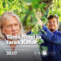 Kontsert-õhtusöök: Tõnis Mägi & Jarek Kasar