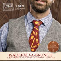 Isadepäeva-brunch Viru ja Meistri Cafe Lyonis!